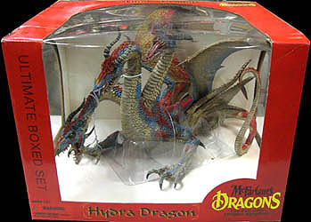 McFARLANE McFARLANE'S DRAGONS SERIES 7 DX BOX HYDRA DRAGON