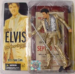 McFARLANE ELVIS PRESLEY 1956 THE YEAR IN GOLD