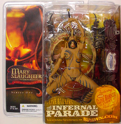 McFARLANE THE INFERNAL PARADE MARY SLAUGHTER ブリスターヤケ特価