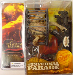 McFARLANE THE INFERNAL PARADE THE GOLEM ELIJIAH