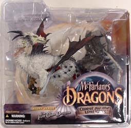 McFARLANE McFARLANE'S DRAGONS SERIES 1 FIRE CLAN DRAGON ブリスターワレ特価