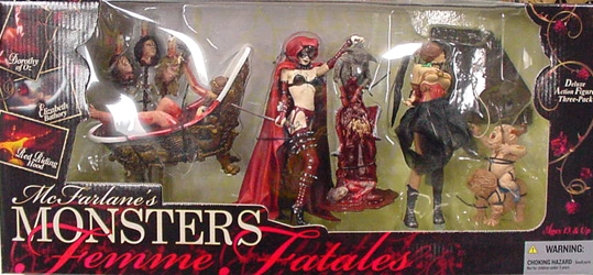 McFARLANE McFARLANE'S MONSTERS FEMME FATALES BOXセット