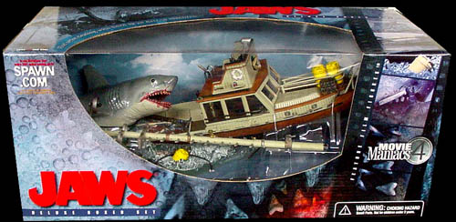 McFARLANE MOVIE MANIACS 4 DX BOX JAWS