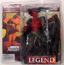 McFARLANE MOVIE MANIACS 5 LEGEND LORD OF DARKNESS ブリスター傷み特価