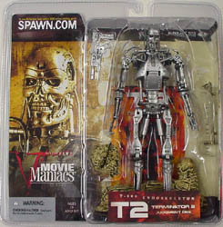 McFARLANE MOVIE MANIACS 5 TERMINATOR 2 ENDOSKELETON