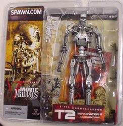 McFARLANE MOVIE MANIACS 5 TERMINATOR 2 ENDOSKELETON バリエーション