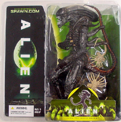 McFARLANE MOVIE MANIACS 6 [2004] ALIEN ブリスター傷み特価