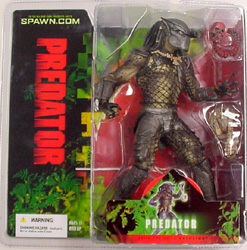McFARLANE MOVIE MANIACS 6 (2004) PREDATOR ブリスターワレ特価