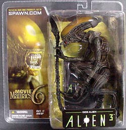 McFARLANE MOVIE MANIACS 6 DOG ALIEN ブリスターヤケ特価