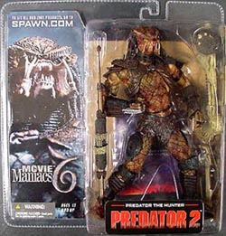 McFARLANE MOVIE MANIACS 6 PREDATOR THE HUNTER ブリスターワレ特価