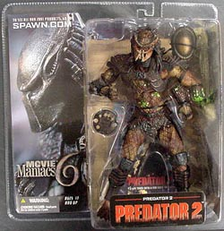 McFARLANE MOVIE MANIACS 6 PREDATOR 2 ブリスターワレ特価