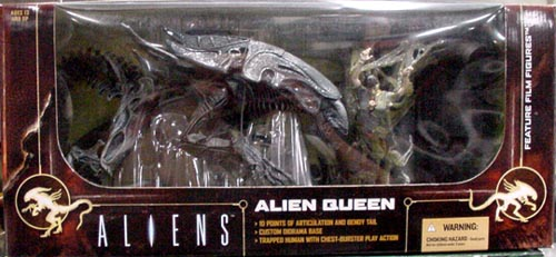 McFARLANE MOVIE MANIACS 6 DX BOX ALIEN QUEEN