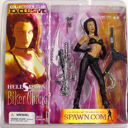McFARLANE コレクターズクラブ限定 HELL SPAWN BIKER CHICK
