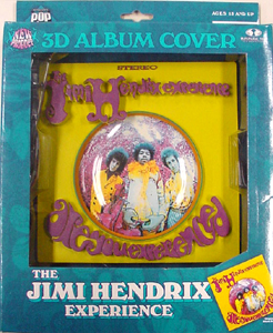 McFARLANE 3D ALBUM COVERS THE JIMI HENDRIX EXPERIENCE パッケージ傷み特価
