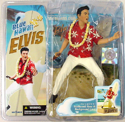 McFARLANE ELVIS PRESLEY BLUE HAWAII