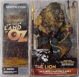 McFARLANE TWISTED LAND OF OZ THE LION