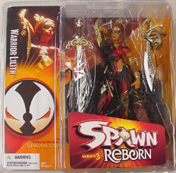 McFARLANE SPAWN REBORN 3 WARRIOR LILITH