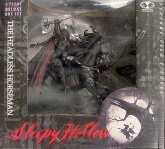 McFARLANE SLEEPY HOLLOW THE HEADLESS HORSEMAN DX BOX