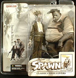 McFARLANE SPAWN 25 SAM & TWITCH