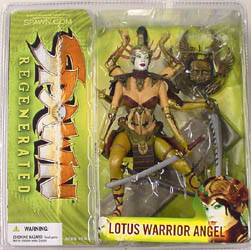 McFARLANE SPAWN 28 LOTUS WARRIOR ANGEL