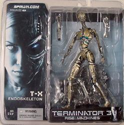 McFARLANE TERMINATOR 3 T-X ENDOSKELETON