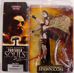 McFARLANE TORTURED SOULS SERIES 2 CAMILLE NOIRE ブリスター傷み特価