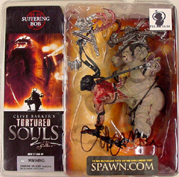 McFARLANE TORTURED SOULS SERIES 2 SUFFERING BOB クライブ・バーカー本人のサイン入り!