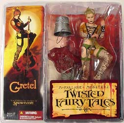 McFARLANE TWISTED FAIRY TALES GRETEL