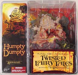 McFARLANE TWISTED FAIRY TALES HUMPTY DUMPTY