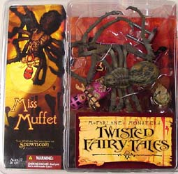 McFARLANE TWISTED FAIRY TALES MISS MUFFET