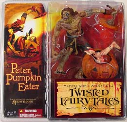 McFARLANE TWISTED FAIRY TALES PETER PUMPKIN EATER