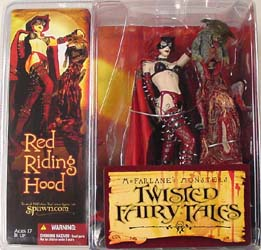 McFARLANE TWISTED FAIRY TALES RED RIDING HOOD