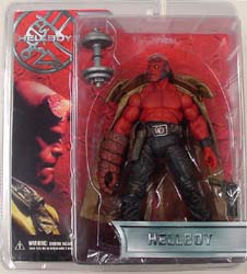 MEZCO 映画版 HELLBOY SERIES 1.5 HELLBOY SHIRTLESS