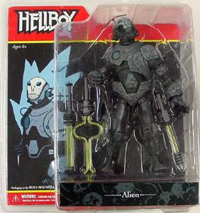 MEZCO コミック版 HELLBOY シリーズ2 ALIEN 輸入版