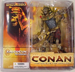 McFARLANE CONAN SERIES 2 XALCOCUN THE UNDEAD