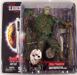 NECA CULT CLASSICS SERIES 1 FRIDAY THE 13TH PART VII JASON