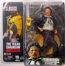 NECA CULT CLASSICS SERIES 2 THE TEXAS CHAINSAW MASSACRE LEATHERFACE ブリスター傷み特価