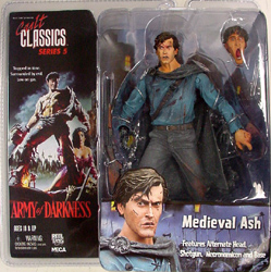 NECA CULT CLASSICS SERIES 5 ARMY OF DARKNESS MEDIEVAL ASH