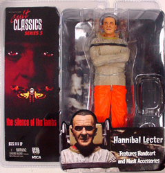 NECA CULT CLASSICS SERIES 5 THE SILENCE OF THE LAMBS HANNIBAL LECTER