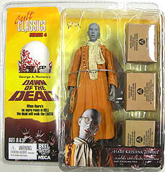 NECA CULT CLASSICS SERIES 6 DAWN OF THE DEAD HARE KRISHNA ZOMBIE ブリスター傷み特価