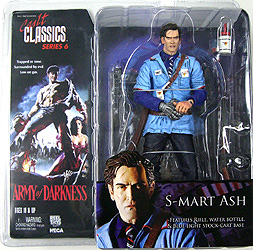 NECA CULT CLASSICS SERIES 6 ARMY OF DARKNESS S-MART ASH