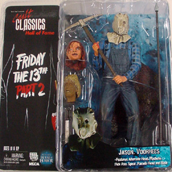 NECA CULT CLASSICS HALL OF FAME SERIES 1 FRIDAY THE 13TH PART 2 JASON VOORHEES