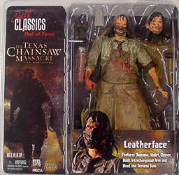 NECA CULT CLASSICS HALL OF FAME SERIES 2 THE TEXAS CHAINSAW MASSACRE THE BEGINNING LEATHERFACE