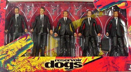 NECA RESERVOIR DOGS BOXセット パッケージ傷み特価