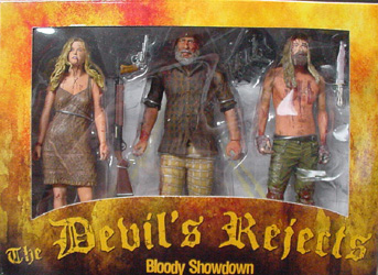 NECA THE DEVIL'S REJECTS BLOODY SHOWDOWN 3PACK