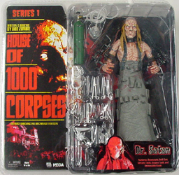 NECA HOUSE OF 1000 CORPSES SERIES 1 Dr.SATAN