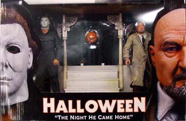 NECA HALLOWEEN THE NIGHT HE CAME HOME 2PACK BOX SET