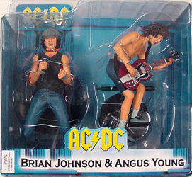 NECA AC/DC BRIAN JOHNSON & ANGUS YOUNG 2PACK
