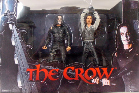 NECA THE CROW FINAL BATTLE 2PACK DX BOX SET パッケージワレ特価