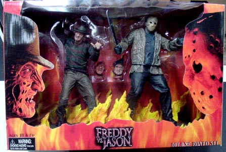 NECA FREDDY VS JASON DX BOX SET